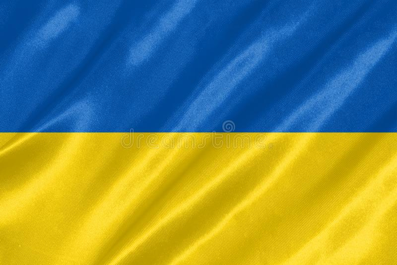 Ukraina flaga zdjęcia royalty free