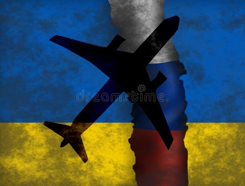 Ukraina kryzys ilustracji