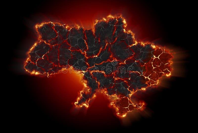 Ukraina kryzys obraz royalty free
