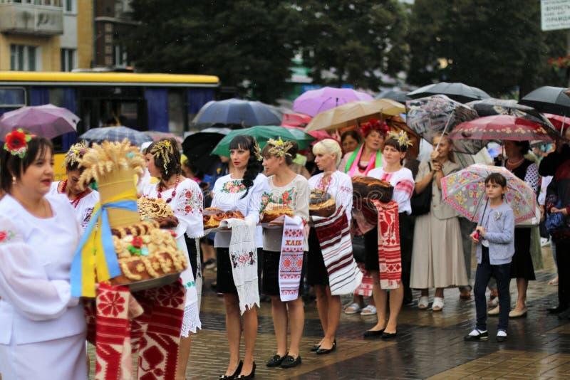 Ukraina ` s dzień niepodległości fotografia royalty free