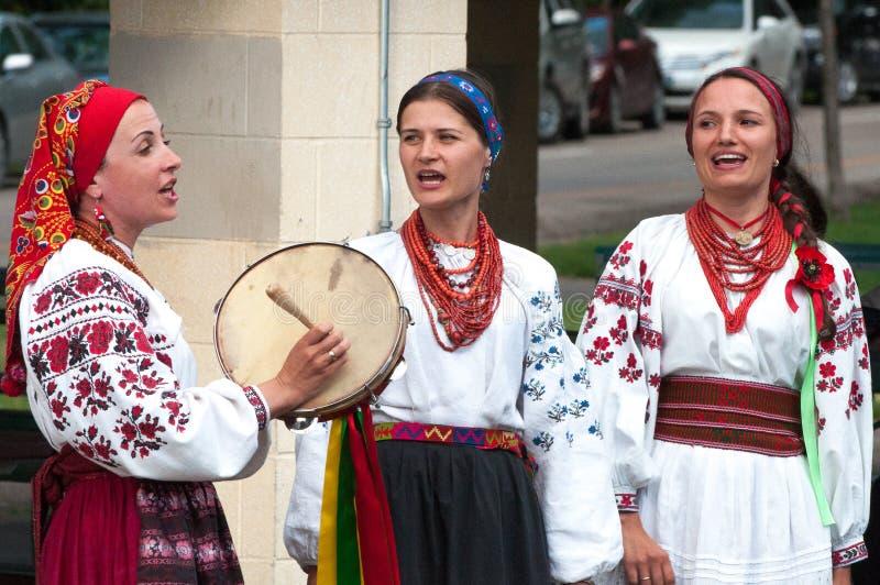 Ukraine Authentic Vocal Group stock image