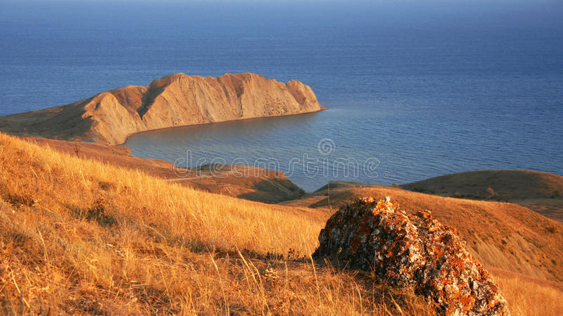 Ukraine. Crimea. Koktebel. Coastline of Black sea