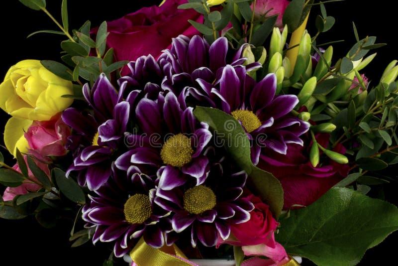 Ukraine Kiev bouquet of beautiful flowers stock photography