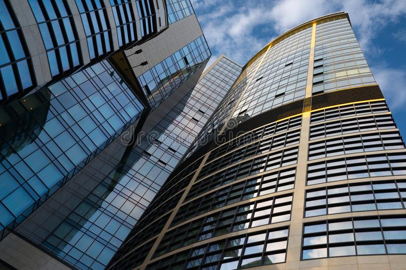 Ukraine, Kiev, - May 19, 2018: Office building is business of center royalty free stock photos