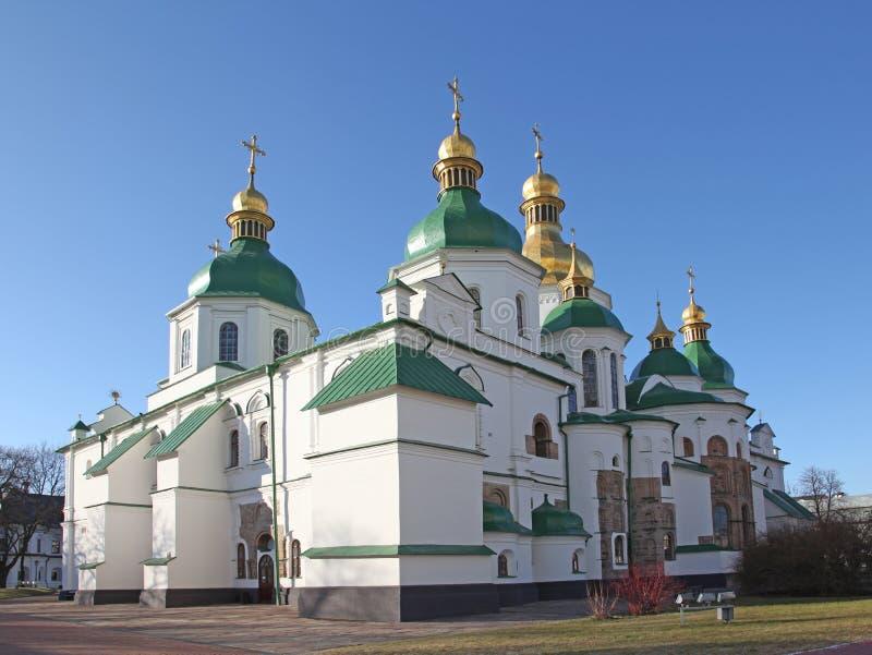 Ukraine. Kiev.Ukraine. Saint Sophias Cathedral. Saint Sophia Cathedral in Kiev is an outstanding architectural monument of Kievan Rus. The cathedral is one of stock photos