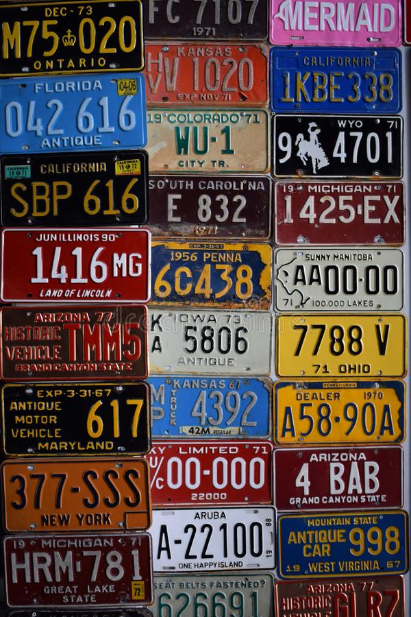 License Plate Wall Stock Images - Download 178 Royalty Free Photos