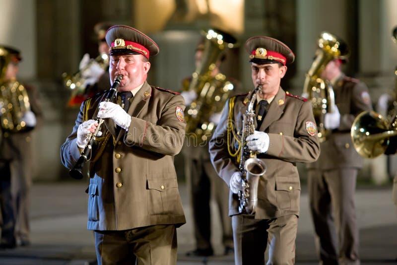 Ukraine military band royalty free stock images