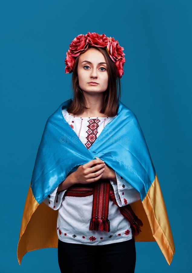 Ukraine patriotic concept stock photo