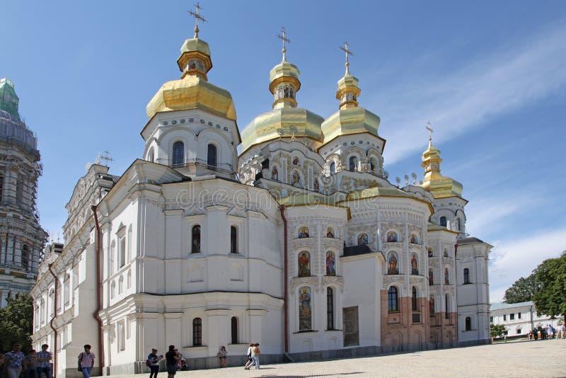 Ukraine. Ukraine. Kiev. Kiev Pechersk Lavra. Cathedral of the Dormition stock photos