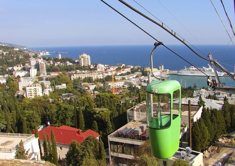 Ukraine Yalta City Royalty Free Stock Images