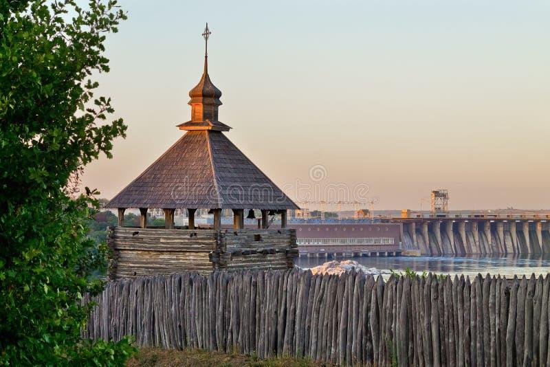 Ukrainer Zaporozhye Sech stockfotos