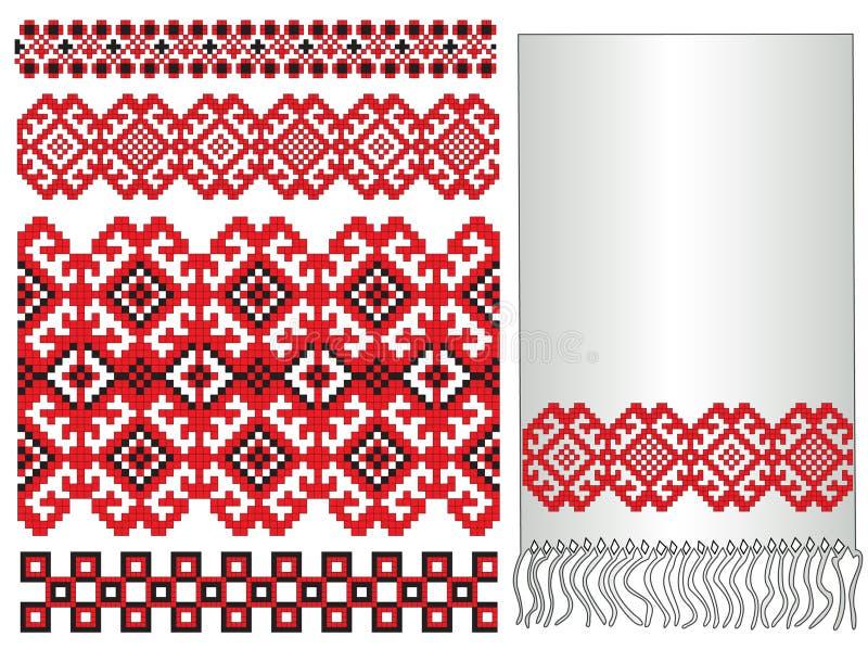ukrainian картины вышивки бесплатная иллюстрация