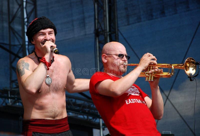 Ukrainian Band Haydamaky In Linz Editorial Stock Image