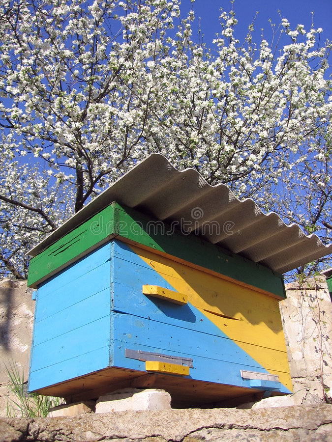 Download Ukrainian beehive stock image. Image of honey, metod, beekeeper - 3801883