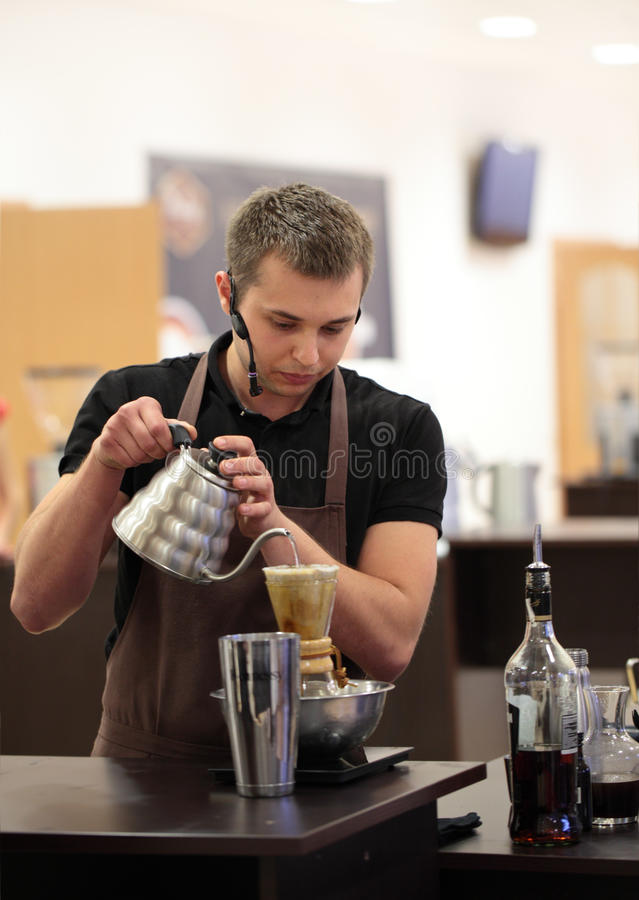 Download Ukrainian Coffee In Good Spirits Championship Editorial Stock Image - Image: 31360514