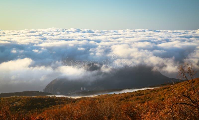 Ukrainian Crimean Mountains stock image