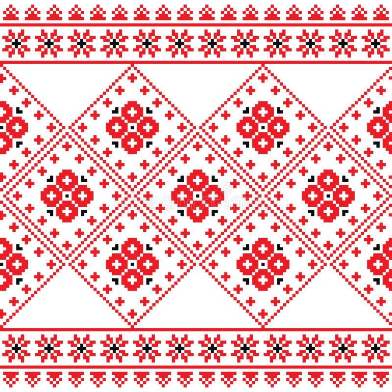 Download Ukrainian, Eastern European Folk Art Embroidery Pattern Or Print Stock Image - Image: 41863875