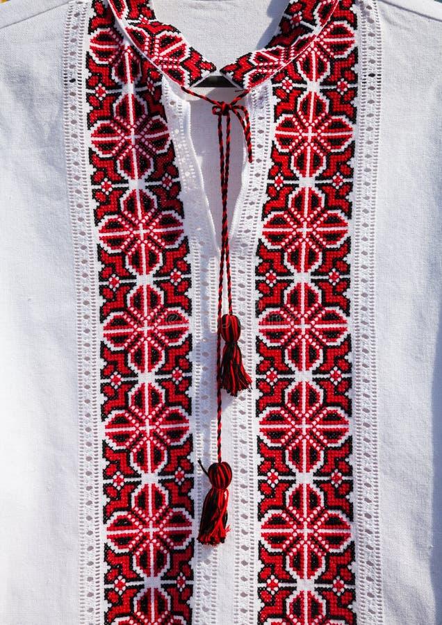Ukrainian embroidery royalty free stock photos