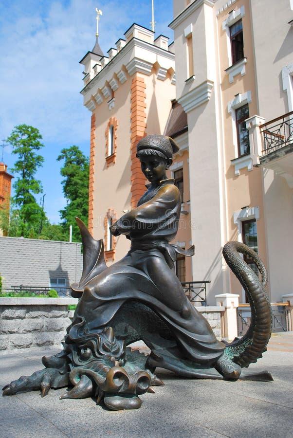 Ukrainian fairy tale hero stock photos