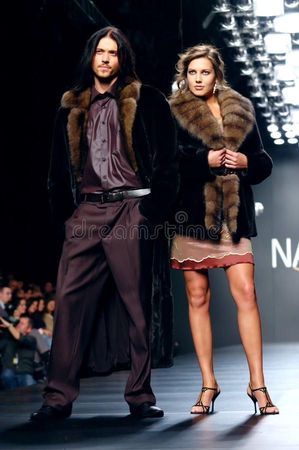 Ukrainian Fashion Week stock image