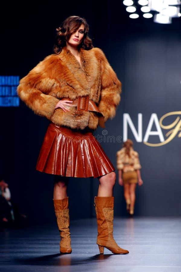 Ukrainian Fashion Week royalty free stock image