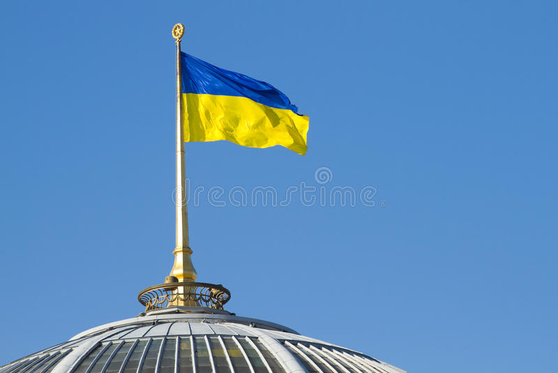 Download Ukrainian flag stock photo. Image of unity, national - 38204030