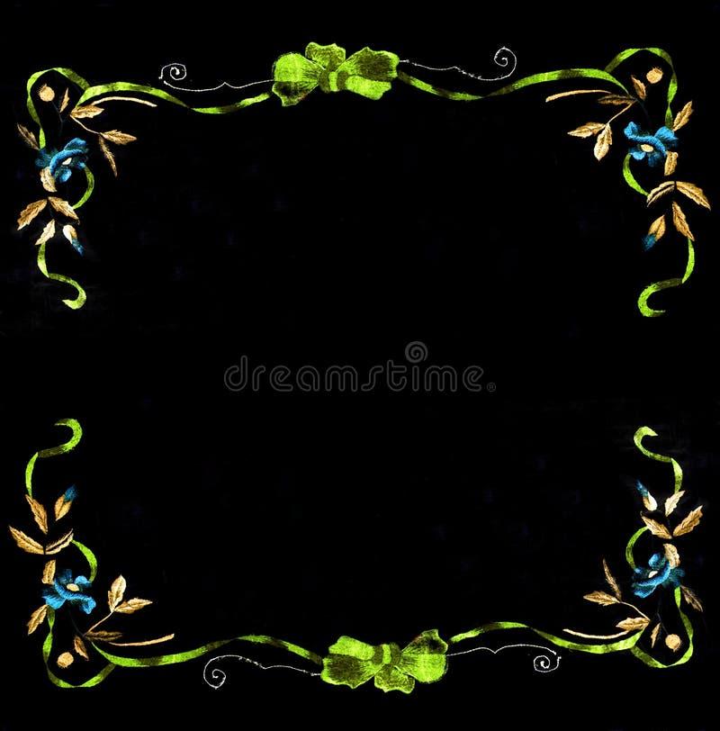 Ukrainian folk embroidery, folk arts and crafts, handmade. Ukrainian folk embroidery, Handmade embroidery, art vector illustration