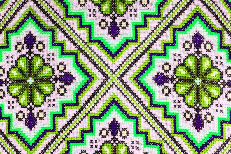 Ukrainian folk seamless pattern ornament. Ethnic ornament stock image