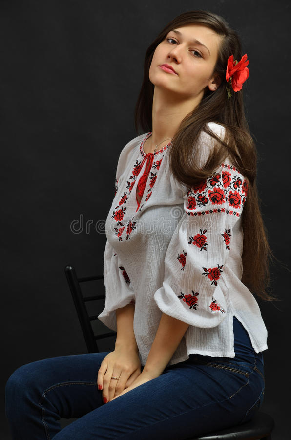 Free Ukrainian Girl Stock Photography - 30197752