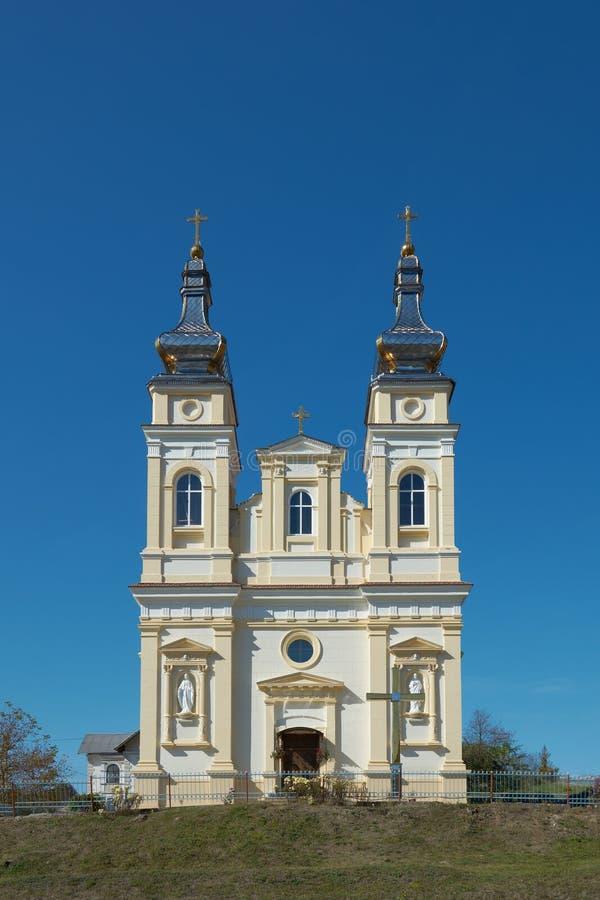 Free Ukrainian Greek Catholic Church Of The Nativity Of Blessed Virgin Mary In Krynytsya, Ternopil Oblast, Ukraine Stock Images - 162305074