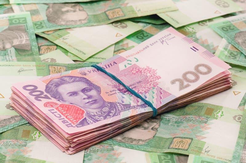 Ukrainian hryvna royalty free stock photography