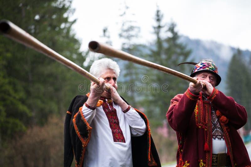 Ukrainian Hutsul stock images