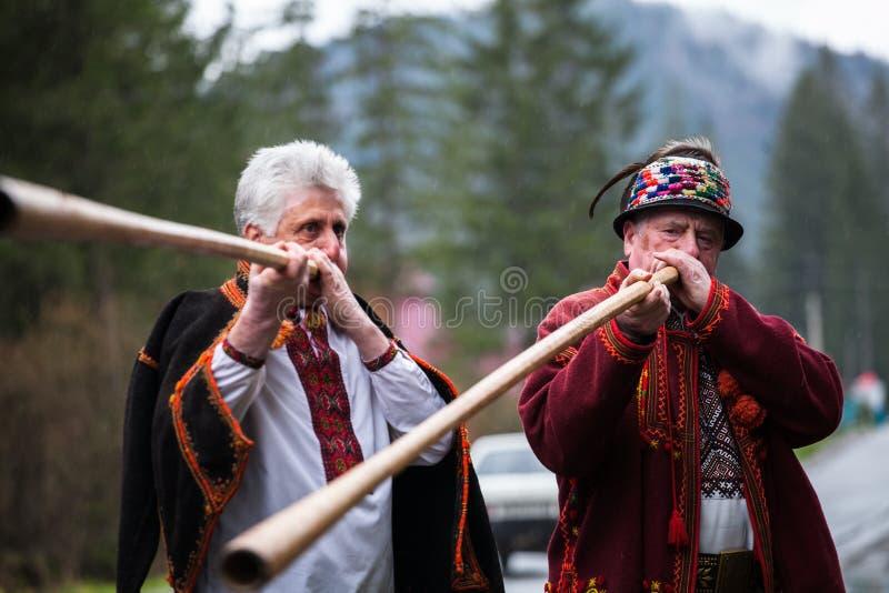 Ukrainian Hutsul royalty free stock photo