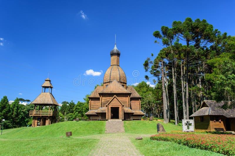 Ukrainian Memorial, Curitiba, Brazil. The Ukrainian Memorial, Curitiba, Brazil royalty free stock photography