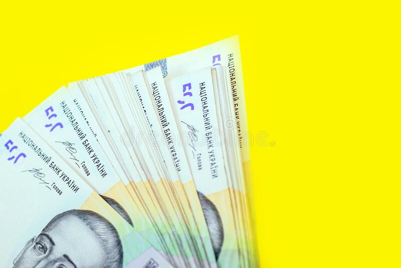 Ukrainian money hryvnia. New bills on 500 UAH. Ukrainian money hryvnia. New bills on 500 UAH stock images