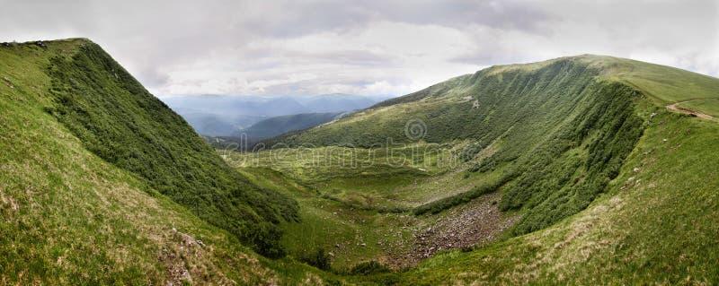 Ukrainian Mountains stock photography