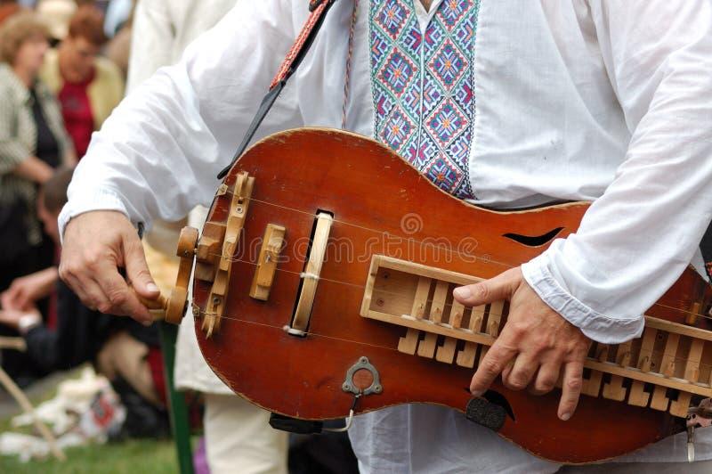 Ukrainian musical instrument stock photos