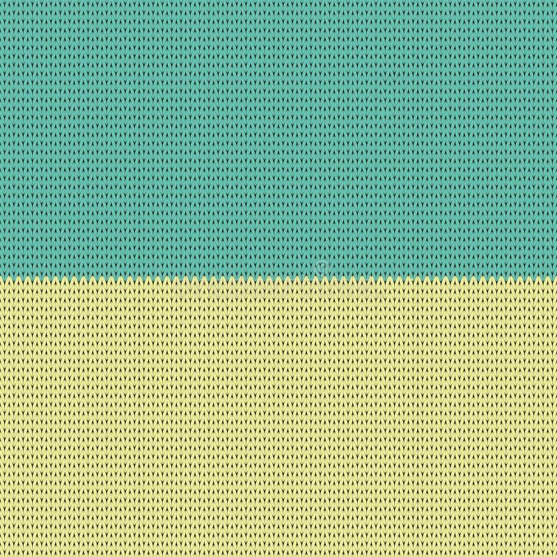 Ukrainian national colors. Flag. knitting pattern. Vector Illustration. Background vector illustration