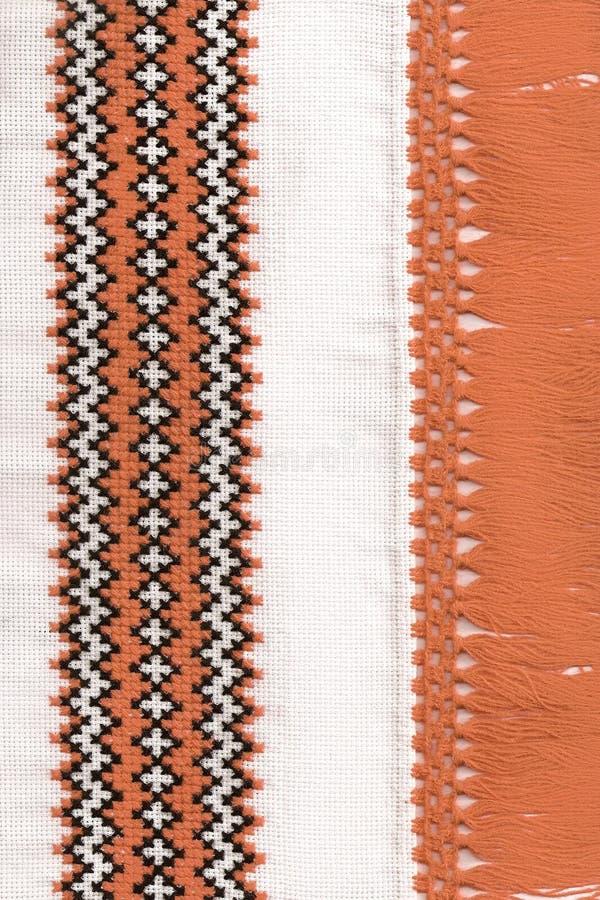 Ukrainian national decorative pattern stock image