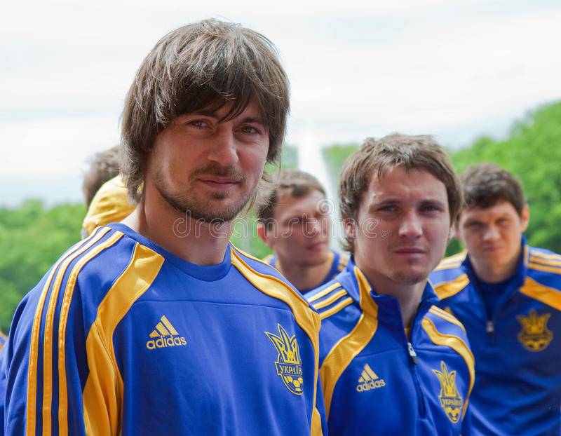 Download Ukrainian National Football Team Editorial Photo - Image: 14481621