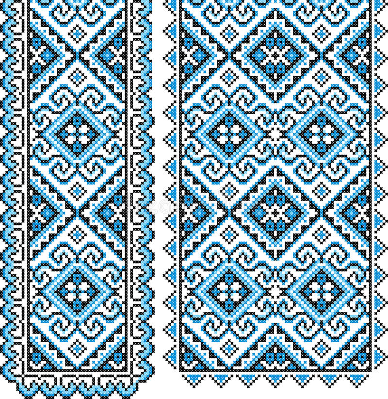 Ukrainian national ornament vector illustration