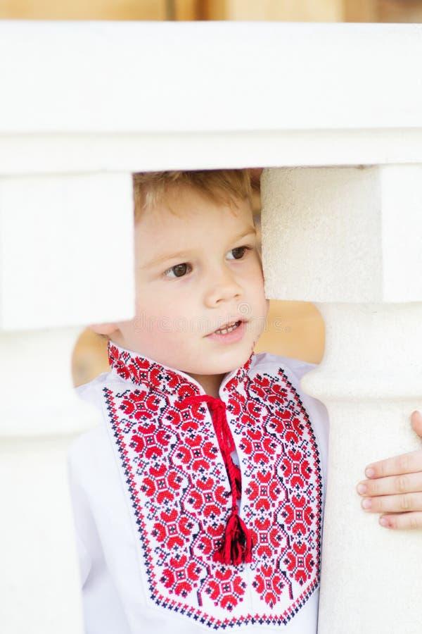 Ukrainian patriot stock photography