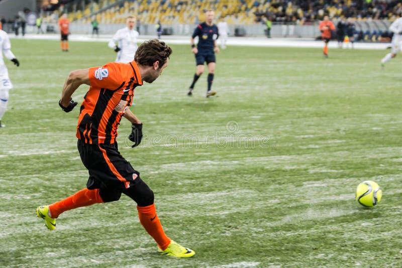 Ukrainian Premier League match Dynamo Kyiv - Shakhtar Donetsk, d royalty free stock images