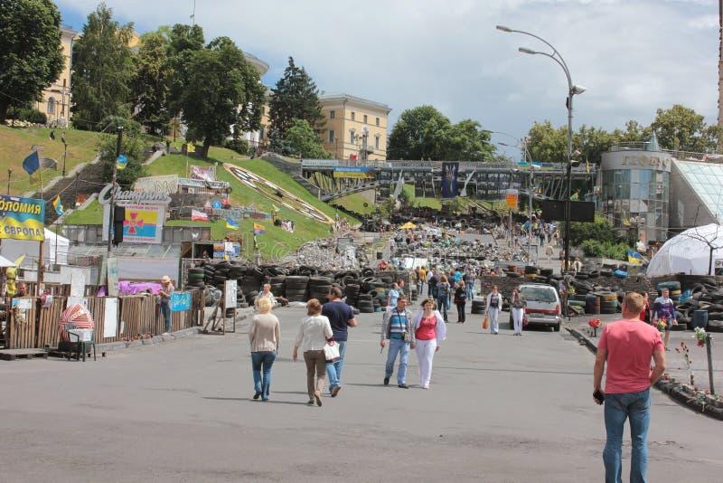 Ukrainian revolution stock photos