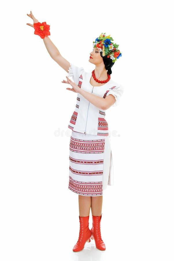 Ukrainien de danse image stock