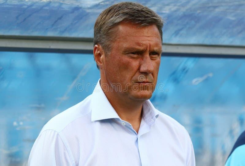 Ukrainische erste Liga: Dynamo Kyiv gegen Chornomorets stockbild