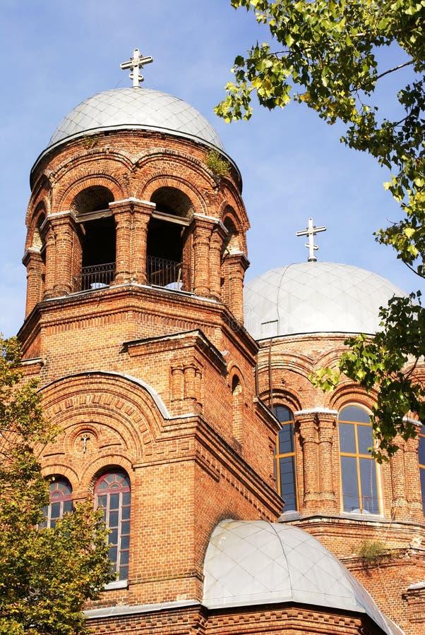 Ukrainische Kirche stockfotografie
