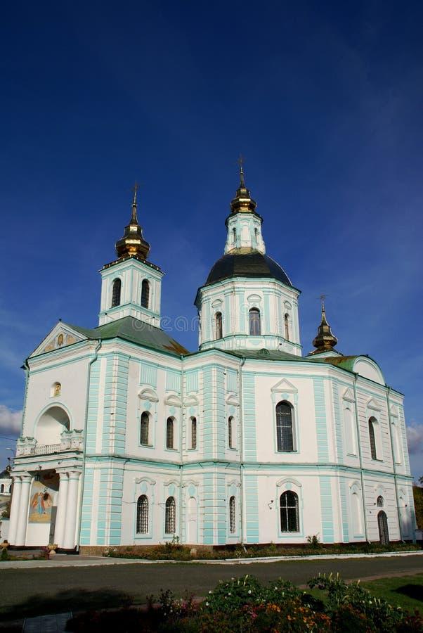 Ukrainische Kirche lizenzfreies stockfoto