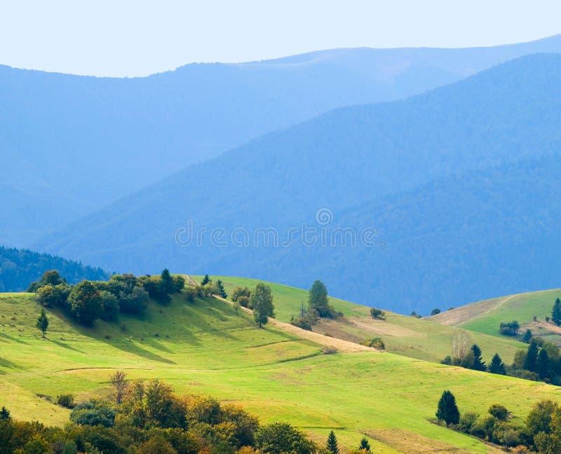Ukrainische Landschaft. stockbild