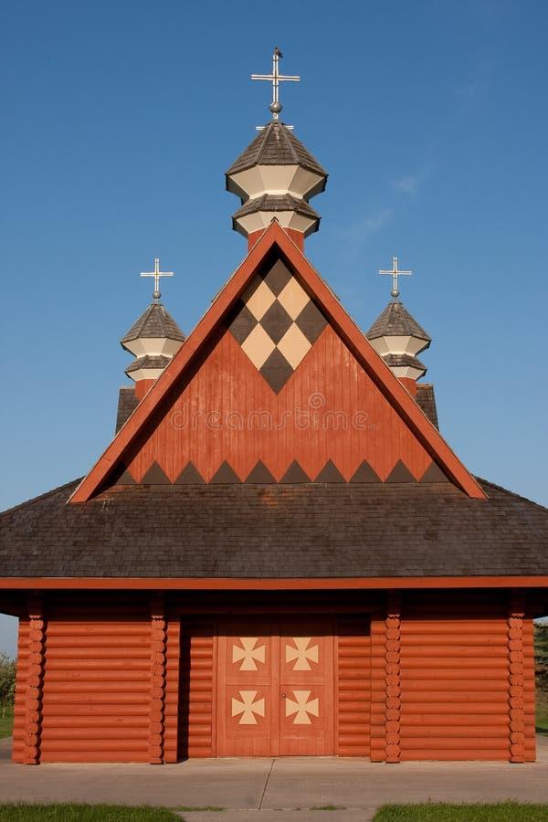Ukrainische Protokoll-Kirche lizenzfreie stockbilder